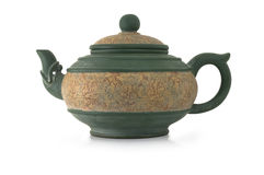 Chinese teapot Royalty Free Stock Photo