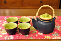 Free Chinese Teapot And Cup Stock Photos - 17951403