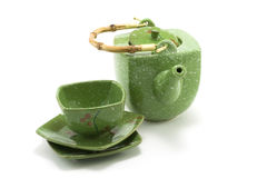 Free Chinese Teapot And Cup 3 Royalty Free Stock Image - 7543696