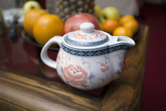 Chinese teapot. Royalty Free Stock Images