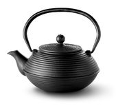 Chinese teapot isolated Stock Image