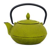 Chinese teapot isolated on white background Royalty Free Stock Image