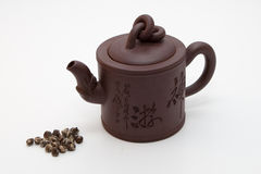 Chinese teapot Stock Images