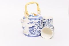 Chinese Teapot set Stock Photos
