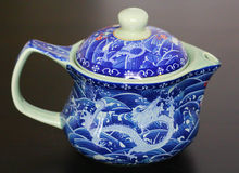 A Chinese Teapot from Shanghai Royalty Free Stock Photos