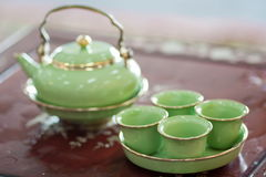 Chinese teapot  - Stock Image Stock Images
