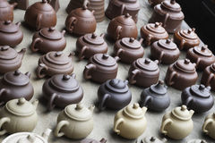 Chinese teapots Royalty Free Stock Images
