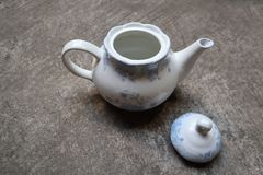 Chinese teapots stock image