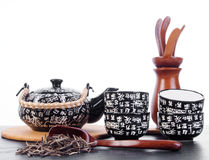 Chinese teaset Royalty Free Stock Images