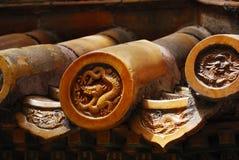 Chinese tegel Royalty-vrije Stock Afbeelding