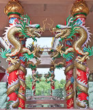 Chinese tempel Royalty-vrije Stock Afbeelding