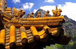 Chinese tempel Royalty-vrije Stock Foto