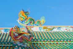 Chinese tempel Royalty-vrije Stock Afbeeldingen