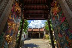Chinese tempel bij penang Stock Afbeelding