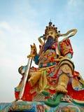 Chinese Tempel: De keizer van de Donkere Hemel Stock Foto's