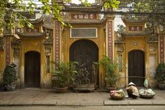 Chinese tempel in Hanoi Vietnam Royalty-vrije Stock Fotografie