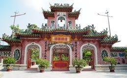 Chinese Tempel in Hoi royalty-vrije stock afbeeldingen