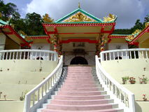 Chinese tempel, Koh Phangan, Thailand. Royalty-vrije Stock Afbeeldingen