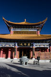 Chinese tempel, Tempel Chongshen Stock Afbeelding