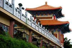 Chinese Tempel in Thailand Royalty-vrije Stock Afbeeldingen