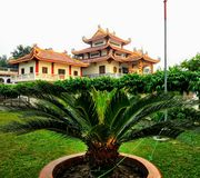 Chinese Tempel van Kushinagar stock afbeelding