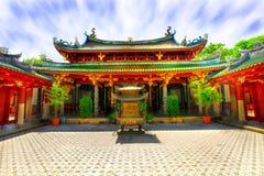 Chinese tempelbinnenplaats Stock Foto