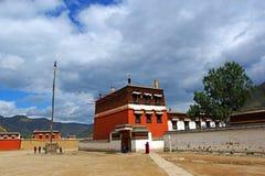 Chinese tempels: LaBuLengSi royalty-vrije stock afbeeldingen