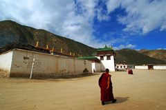 Chinese tempels: LaBuLengSi royalty-vrije stock foto's