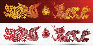 Chinese template Royalty Free Stock Images