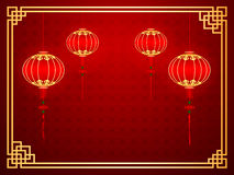 Chinese template Royalty Free Stock Photo
