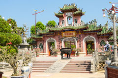 Chinese temple. Phuc Kien Assembly Hall, Hoi An, Viet Nam Royalty Free Stock Photography