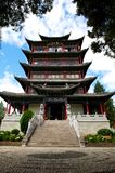 Chinese Temple. Wangu Tower, a Chinese temple in Lijiang, Yunnan Province stock photos
