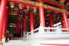 Chinese temple. Chinese colourful temple in Semarang, Indonesia Royalty Free Stock Images