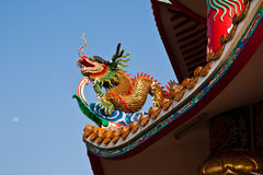 Chinese temple. In chonburi, Thailand Stock Photos