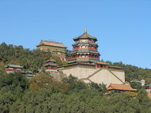 Chinese temple. In Beijing / China Stock Photo