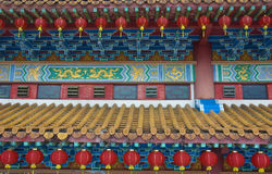 Chinese temple. A photo ofchinese new year temple royalty free stock photos