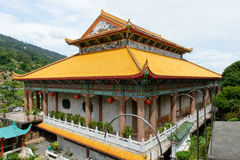 Chinese temple. The photo of chinese temple at Kek Lok Si, Penang Royalty Free Stock Images
