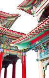 Chinese Temple. Roof Art of Chinese Temple royalty free stock photos