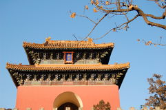 Chinese temple. History temple in Beijing China Royalty Free Stock Image