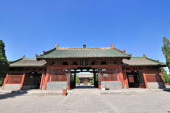 Chinese Temple Architecture Royalty Free Stock Image