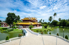 Chinese temple in bang pa-in at ayutthaya Thailand Royalty Free Stock Images