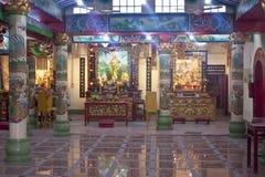 Chinese temple in Bangkok Royalty Free Stock Photos
