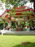 Chinese temple - Bangkok. Thailand (2013 Royalty Free Stock Photo