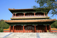 Chinese Temple - Beijing, China. Chinese Temple in Beijing, China - chinese traditional architecture Stock Photos