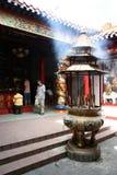 Muara Terbas Chinese temple, Kuching, Sarawak Stock Photo
