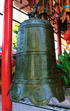 Bell in the chinese temple Stock Photo