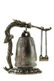 Chinese Temple bell miniature Royalty Free Stock Photo