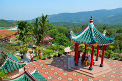 Chinese Temple in Broga, Malaysia Royalty Free Stock Images