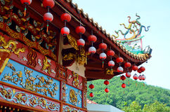 Chinese Temple in Broga, Malaysia Royalty Free Stock Photos