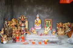 Chinese Temple Buddha statue Stock Image